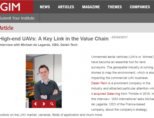 High-end UAVs: A Key Link in the Value Chain (GIM International)