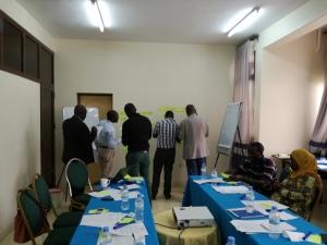 Workshop in Musanze, Rwanda