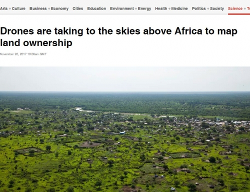 Drones are taking to the skies above Africa to map land ownership (The Conversation)