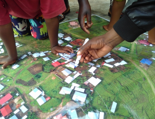Participatory mapping of cadastral boundaries in Rwanda